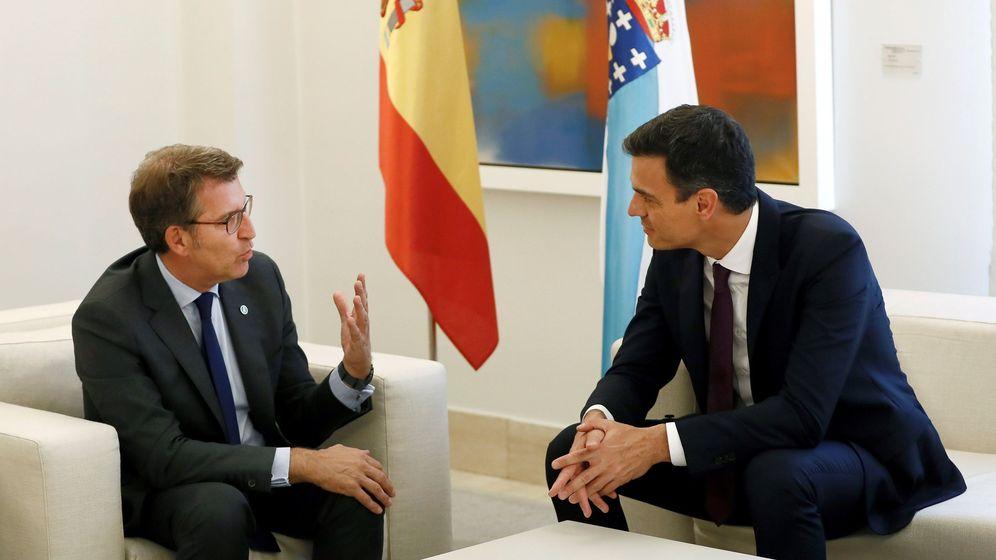 Foto: Alberto Núñez Feijóo y Pedro Sánchez. (EFE)