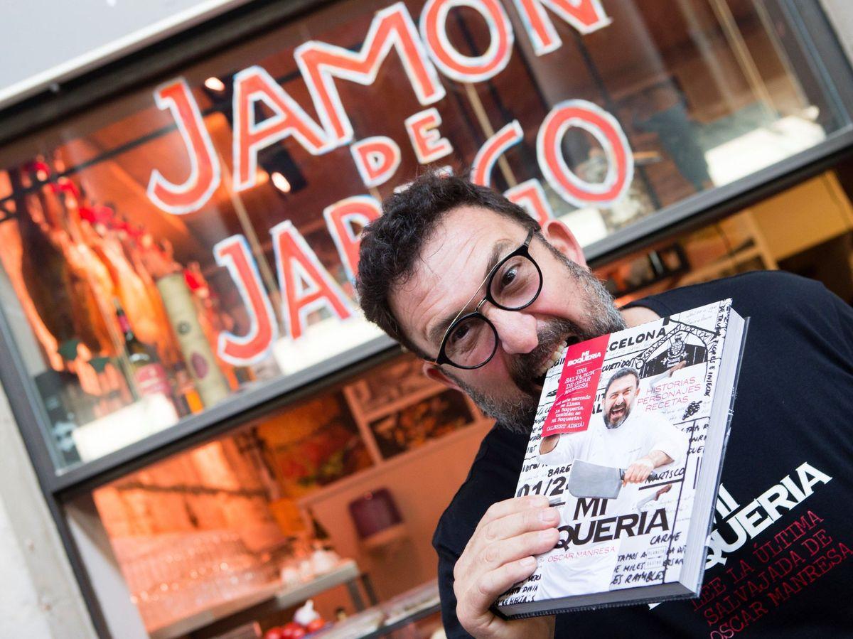 Foto: El chef Óscar Manresa.