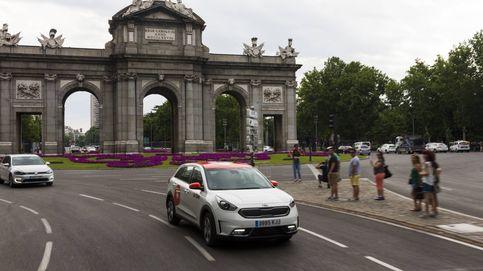 Los Kia Niro de Wible han recorrido ya 20 millones de kilómetros por Madrid