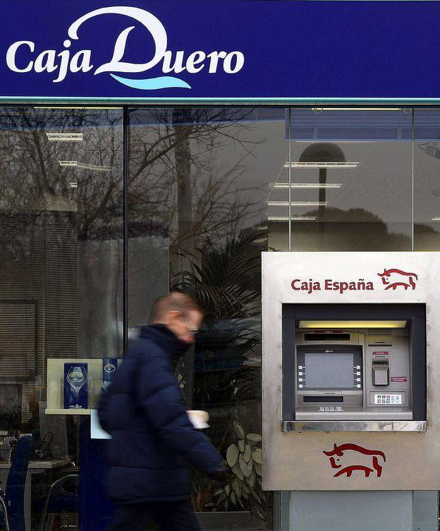 Foto: Oficina de Caja España-Duero. (EFE)
