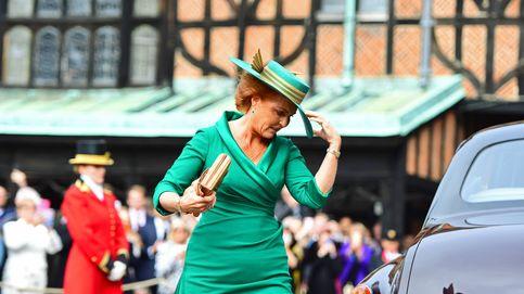 El 'vestidazo' de Sarah Ferguson fue el que lució en la recepción posterior