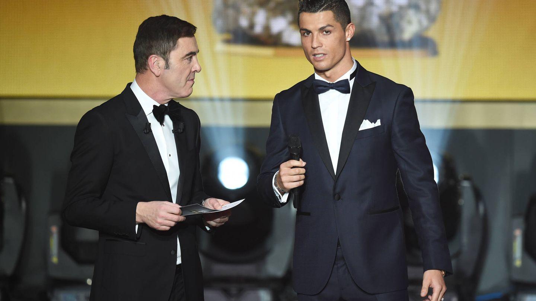 Cristiano Ronaldo en una imagen de archivo. (Getty)