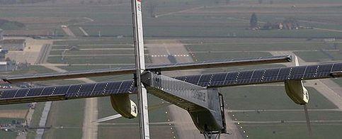 Foto: El primer avión que funciona con energía solar indefinidamente