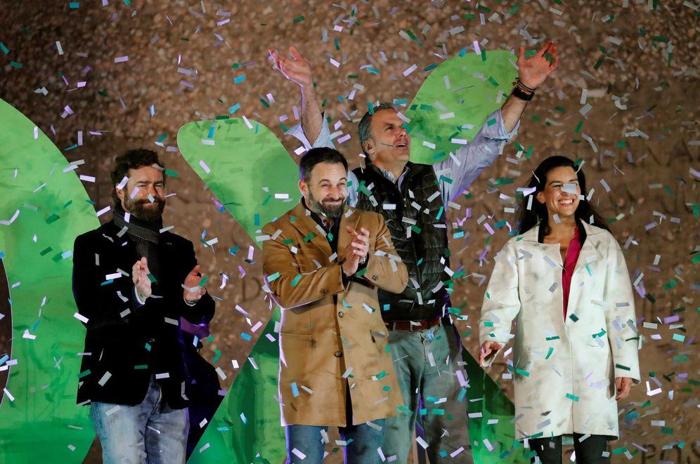 Foto: Cierre de campaña de Vox en Madrid (EFE)