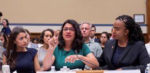 Post de Trump insiste en que cuatro congresistas latinas y negras deben