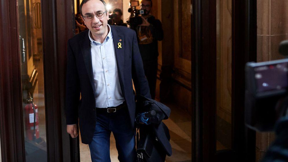 Foto: El diputado de Junts per Catalunya, Josep Rull. (EFE)