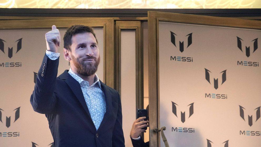 Leo Messi debuta en la moda tras el fiasco de los zapatos de Antonella