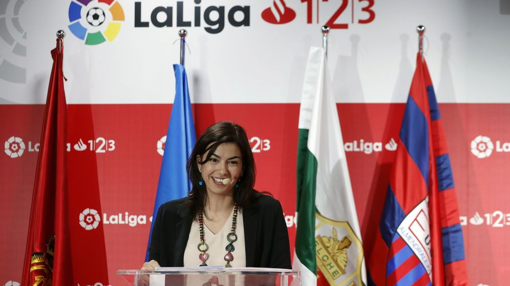 Foto: María José Rienda, en un acto reciente. (EFE)