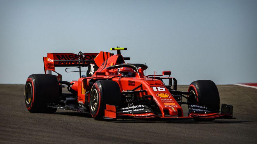 Foto: Charles Leclerc durante el Gran Premio de Estados Unidos. (Reuters)