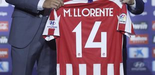 Post de El Atlético de Madrid despide a Rodri en la presentación de Marcos Llorente