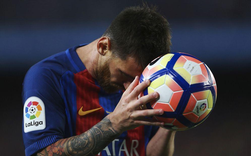 Foto: El Barcelona de Valverde se encomienda a Messi más que nunca. (EFE)