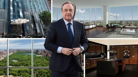 Florentino Pérez niega la compra del ático, pero una inmobiliaria  le desmiente