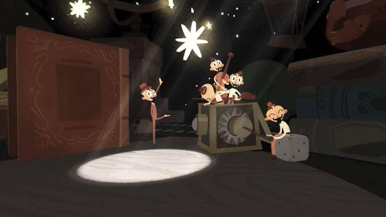 George Méliès y su magia, en el primer 'doodle' de Google de 360º y realidad virtual