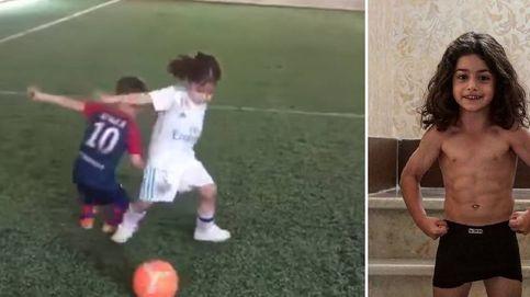 La verdadera historia de la 'niña futbolera' que arrasa en la red: es un niño iraní