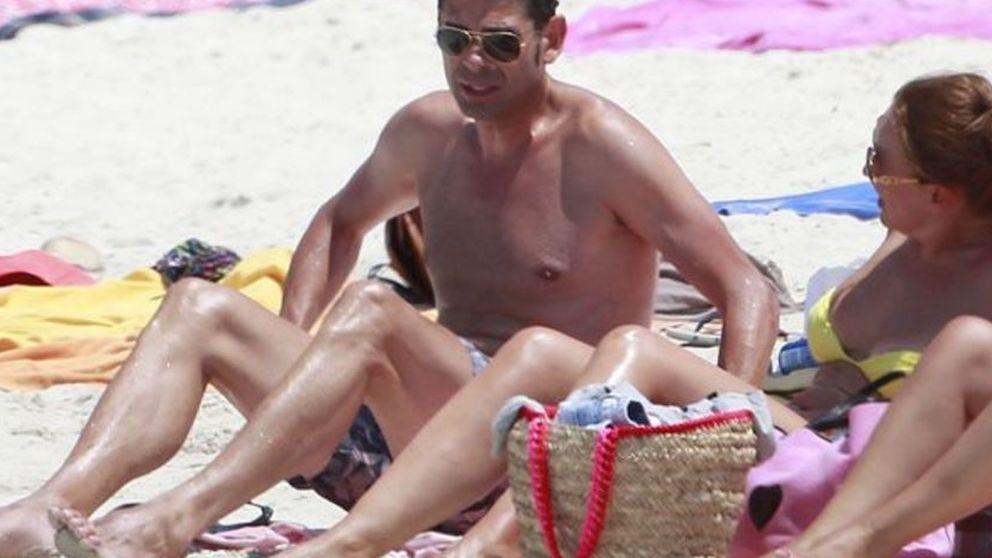 Fernando Hierro, vacaciones en Formentera