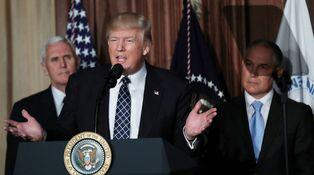 Cien días de política antiambiental de Trump