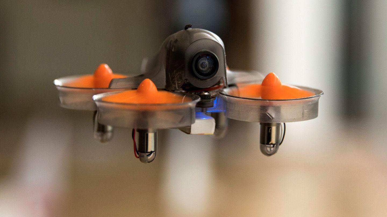 Vista de un drone de carrera. (Efe)