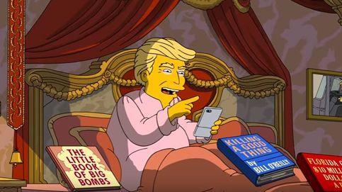 Los Simpson parodian los primeros 100 días de Trump en la Casa Blanca