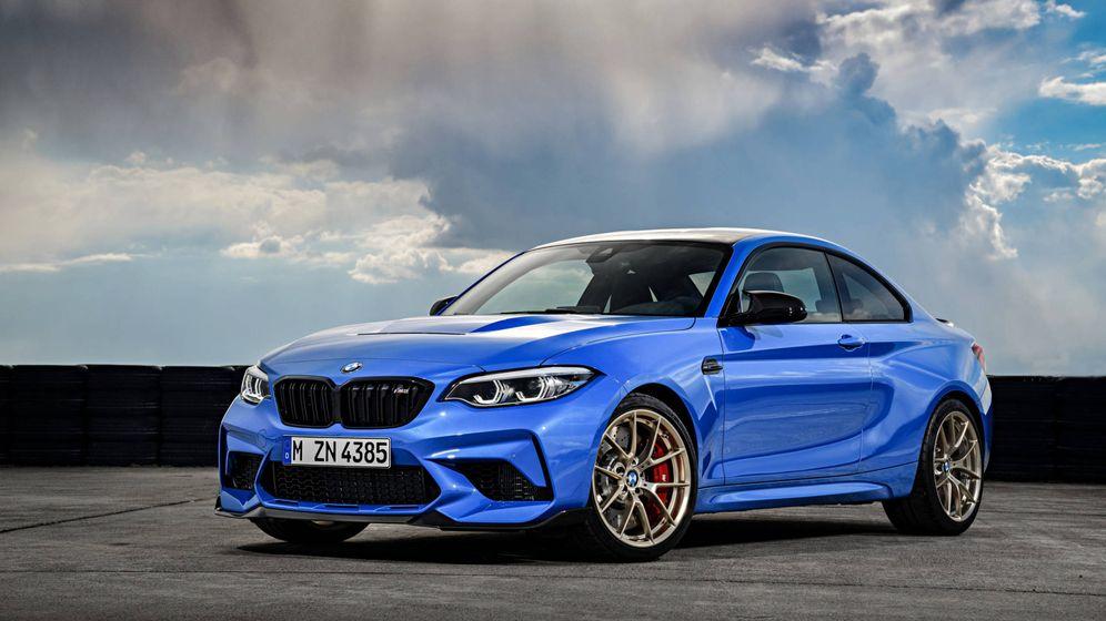 Foto: Este BMW M2 CS es una verdadera joya de los coches de competición.