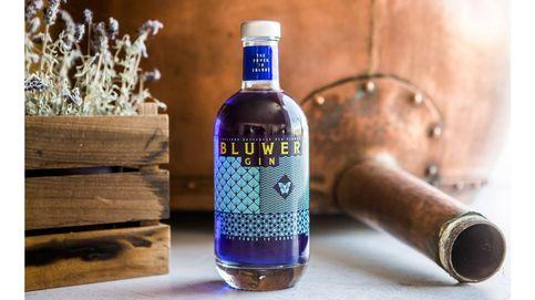 Bluwer: la ginebra que cambia de color