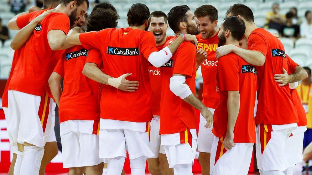 Foto: La Selección española antes de su partido contra Polonia. (EFE)