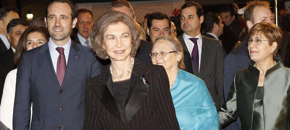 Foto: La Reina acude como invitada a la première de 'Vicente Ferrer'