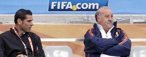 """Del Bosque: """"Fernando estás loco, cómo te vas a ir ahora"""""""