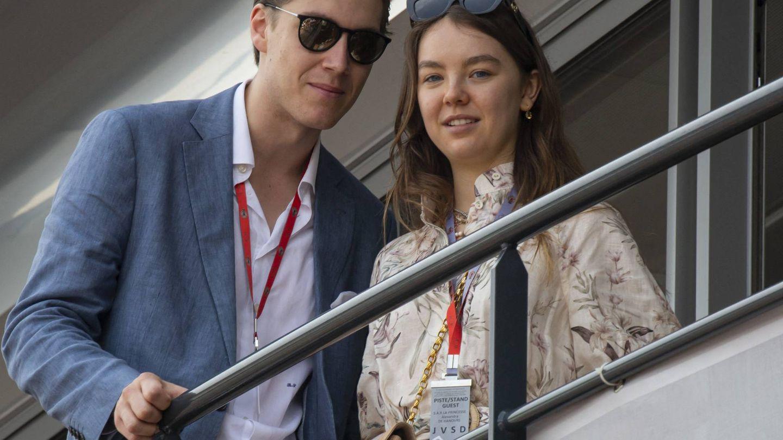 Alexandra de Hannover, con su novio. (Cordon Press)