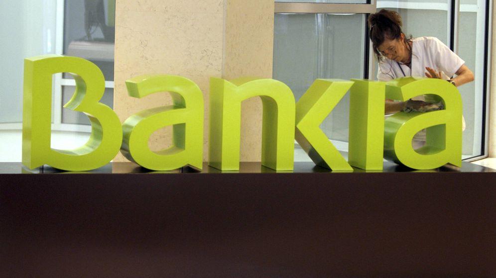 Foto: Logotipo de Bankia en su sede de Valencia. (EFE)
