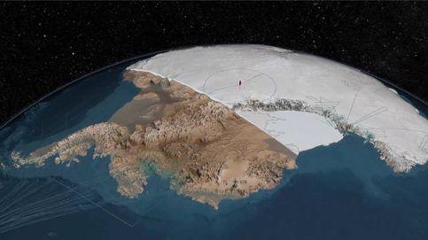 Lo que nadie ha visto hasta ahora: así es la Antártida bajo el hielo