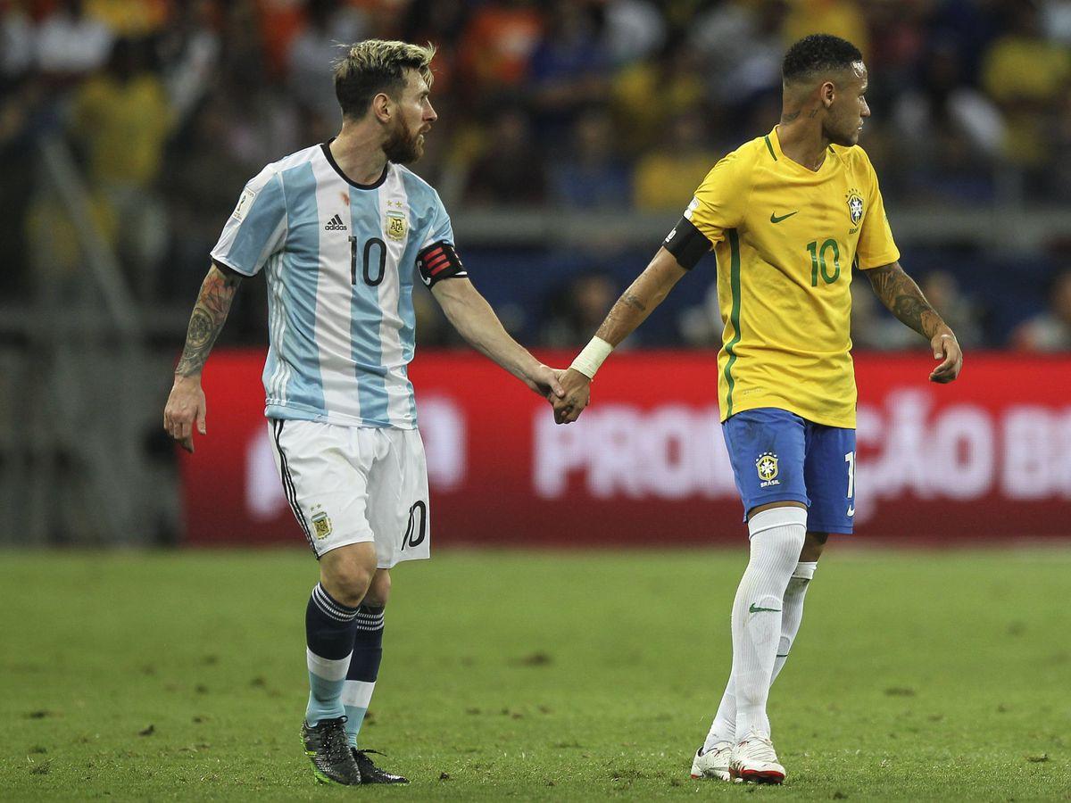 Foto: Neymar y Messi, en la final de la Copa América 2016. (EFE)