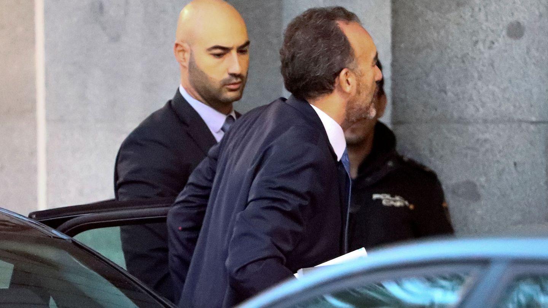 Manuel Marchena, entrando en el Supremo. (Reuters)