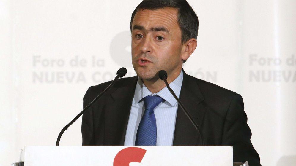 Foto: Fernando Giménez Barriocanal, vicesecretario para Asuntos Económicos de la Conferencia Episcopal. (EFE)