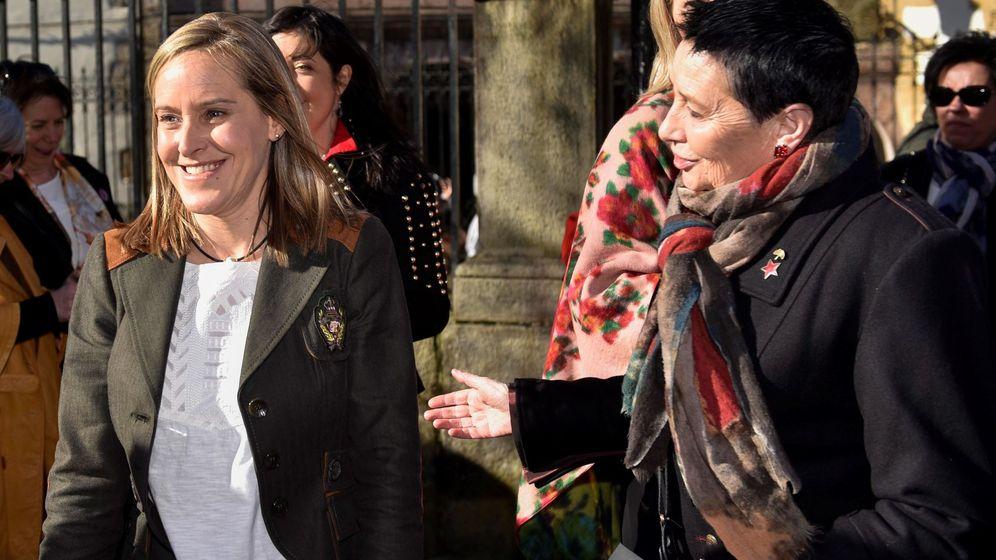 Foto: Amaya Fernández (i), en una foto de archivo. (EFE)
