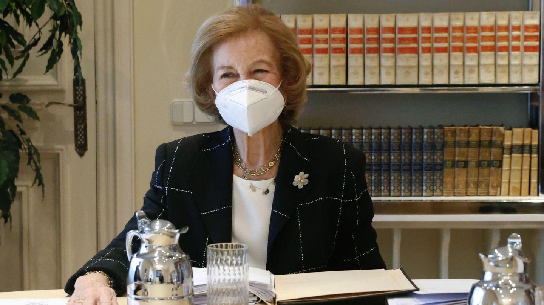 La reina Sofía, en una imagen reciente. (EFE)