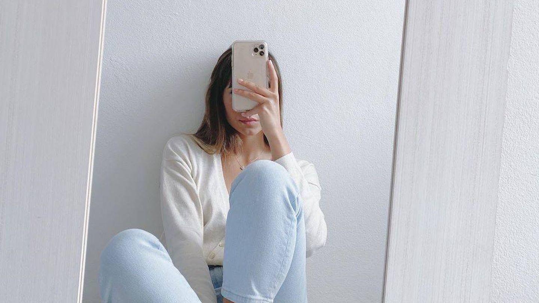 Un selfi de Aitana frente al espejo. (Instagram)