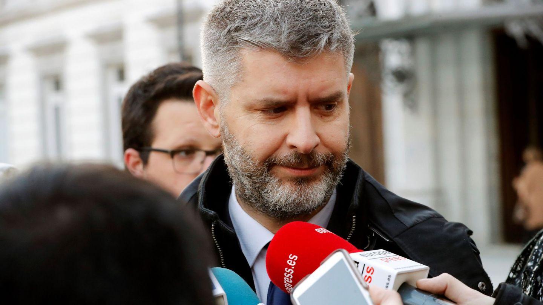 Andreu Van den Eynde, abogado de Oriol Junqueras y Raül Romeva. (EFE)