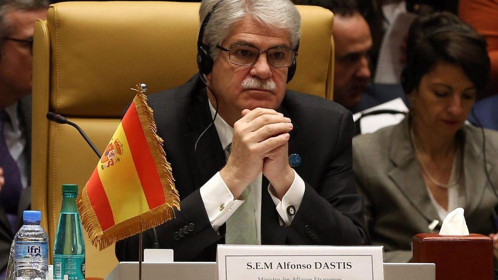 Foto: Alfonso Dastis, ministro de Exteriores. (Reuters)