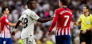 Post de Atlético de Madrid - Real Madrid: horario y dónde ver en TV y 'online' el derbi de La Liga