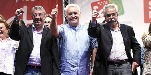 """Cayo Lara llama a defender la dignidad votando a IU porque es """"hora de la indignación y rebeldía"""""""