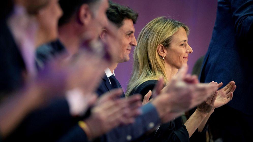 Foto: Cayetana Álvarez de Toledo, número uno por el PP en Barcelona. (EFE)