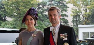 Post de Mary de Dinamarca y Matilde de Bélgica y su momento 'twin' en Japón