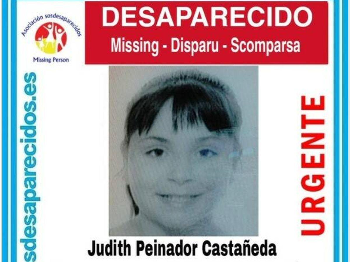 Foto: La menor de 14 años desaparecida en Palencia. Foto: Sos Desaparecido