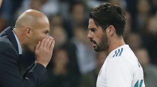 El ventilador, en marcha: Isco, fuera del Madrid (y que parezca cosa de Zidane)