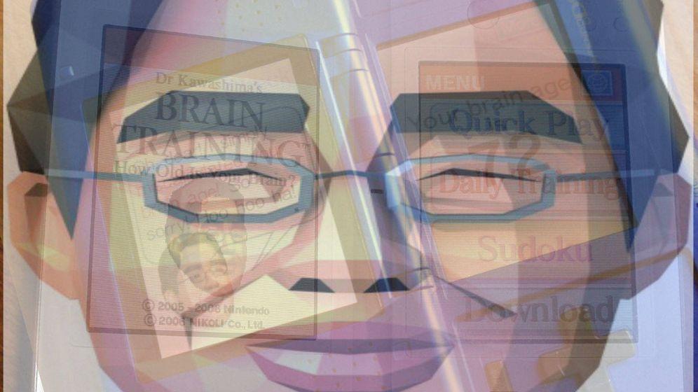 Foto: El doctor Kawashima, imagen de estos juegos mentales de Nintendo (EC)