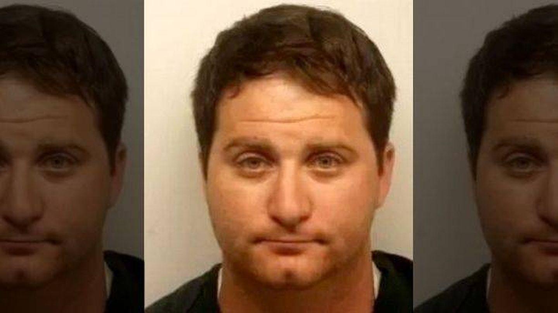 Ryan Cherwinski fue arrestado después de que el restaurante avisara a la Policía | Oficinal del sheriff del Condado de Chatham