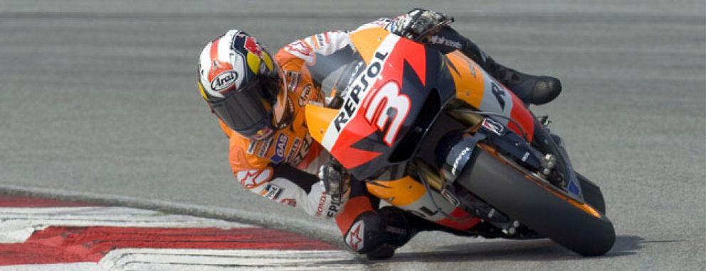 Foto: Un duelo entre Lorenzo y Pedrosa hace olvidar a Stoner y Rossi