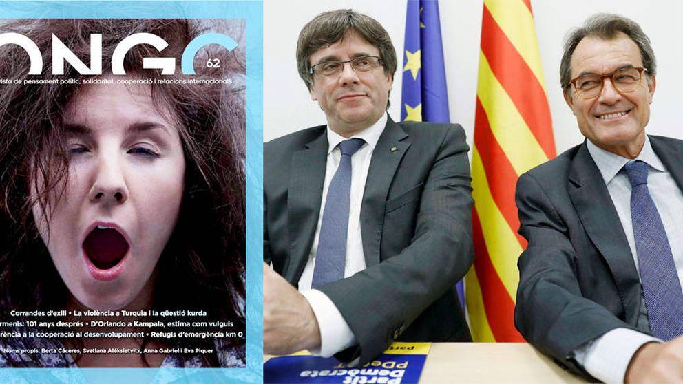 El Govern regó con dinero una revista de 'corta y pega' para financiar el 'procés'