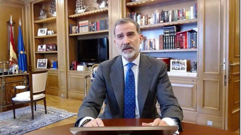 El Rey, ensalza al empresariado español: Ni el virus ni la crisis nos van a derribar