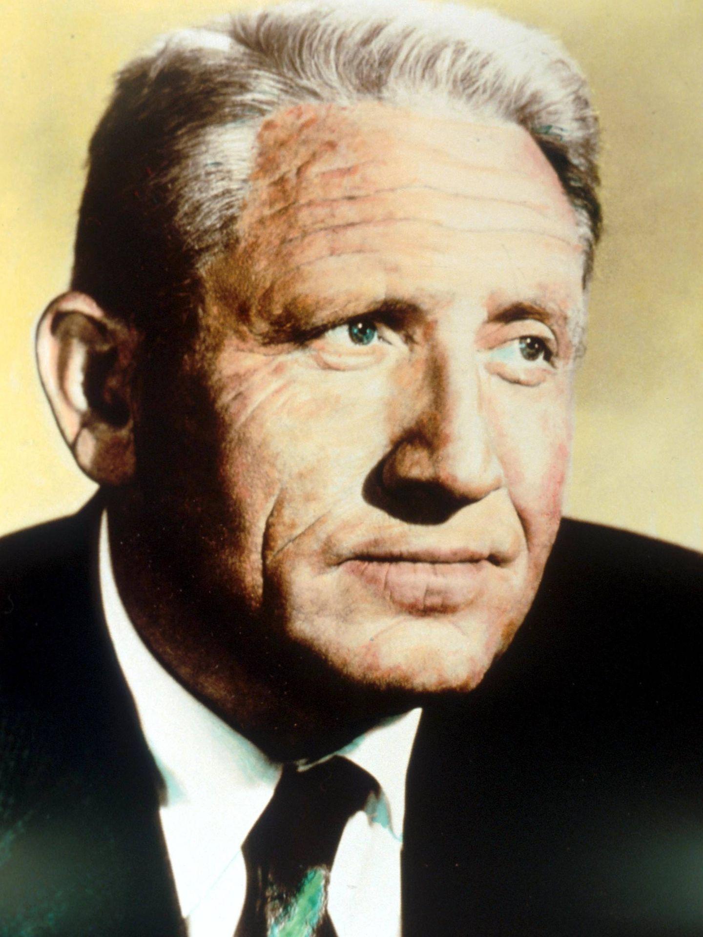 Spencer Tracy, en la década de los 50. (Cordon Press)